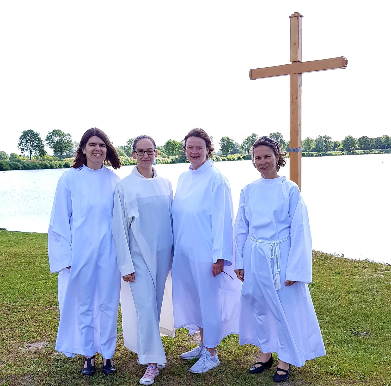 Fröhliches Tauffest Am St Leoner See Evangelische